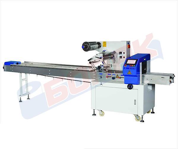 Avtomatska flow-pack masina za pakuvanje ogromen broj proizvodi