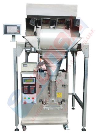 Avtomatska masina za pakuvanje zrnesti proizvodi 50-1000gr (so 4 vagi)