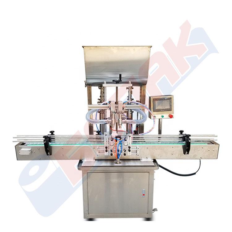 Avtomatska masina za polnenje tecnosti (2 glavi)