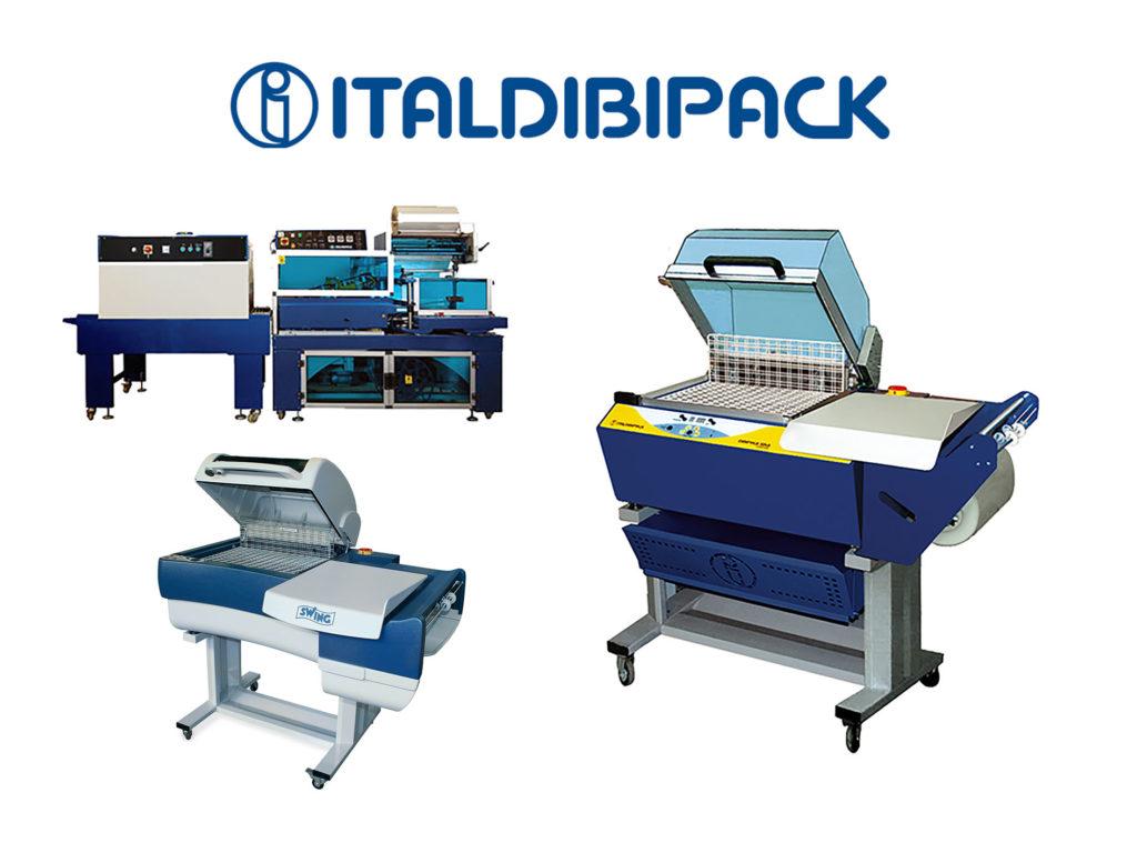 Masini za pakuvanje so termo-folija ITALDIBIPACK