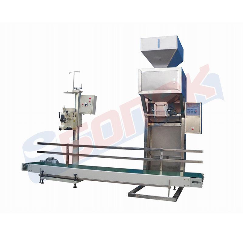 Sistem za pakuvanje zrnesti proizvodi
